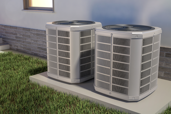 Ways by which you can hide the heat pump from the outdoor unit